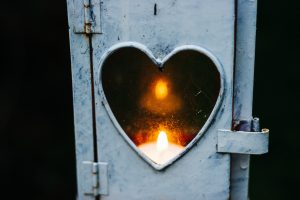 Heart Candle, not separate